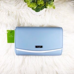 NEW Kate Spade Laurel Way Greer Blue Dawn
